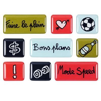 Magnets Acrylique Faire le plein