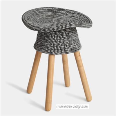 Coiled Stool 54cm