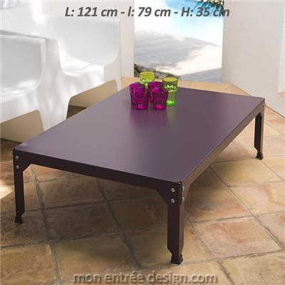 Table Basse Rectangle Hegoa M